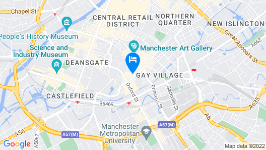 Novotel Manchester Centre Map