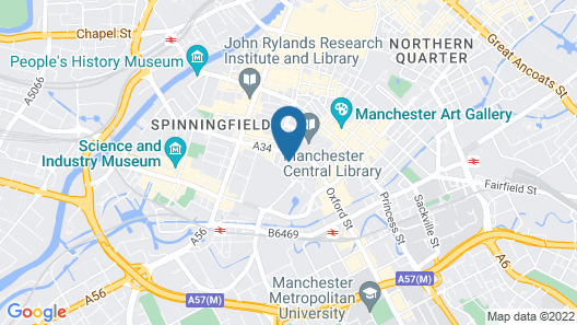 The Midland - Manchester Map