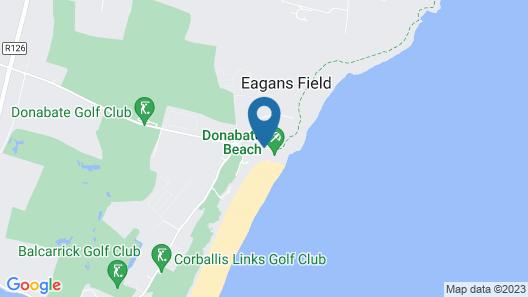 Shoreline Hotel Map