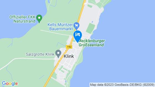 Schloss Klink Map