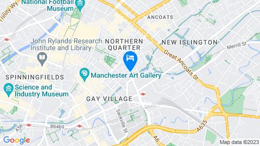 Malmaison Manchester Map