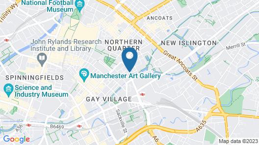 ABode Manchester Map