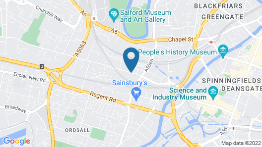 Holiday Inn Manchester West Map