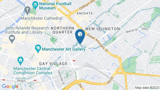 Dakota Manchester Map