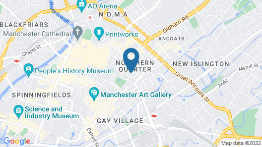 Piccadilly Gardens Map