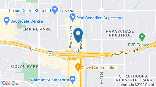 Radisson Hotel Edmonton South Map
