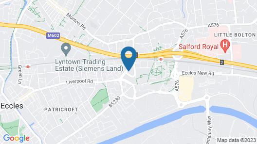 Milton Manchester Hotel Map