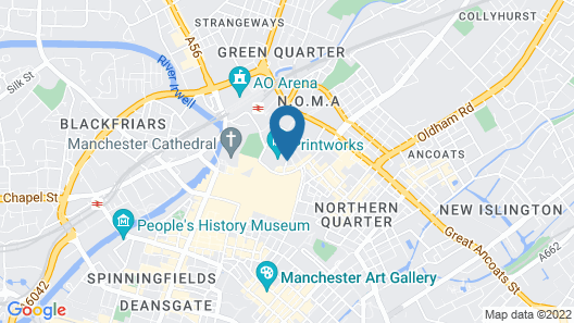 City Stop Manchester Apartments Map
