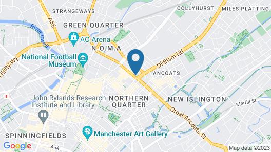 Swan Street Penthouse Map