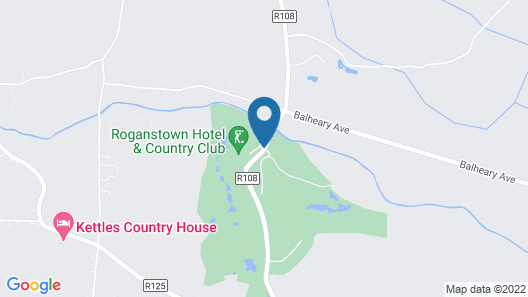Roganstown Hotel & Country Club Map