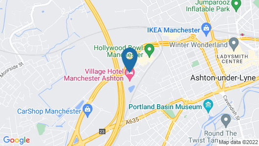 Village Hotel Manchester Ashton Map