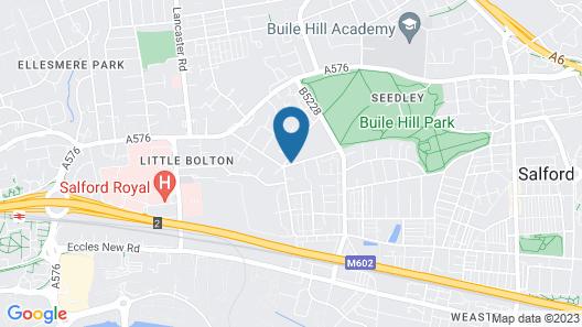 Weaste Hotel Map