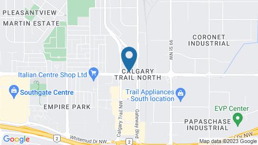 Best Western Cedar Park Inn Map