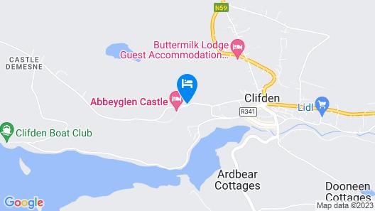 Abbeyglen Castle Hotel Map