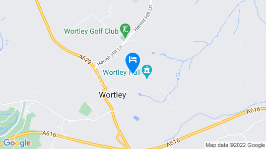 Wortley Hall Map