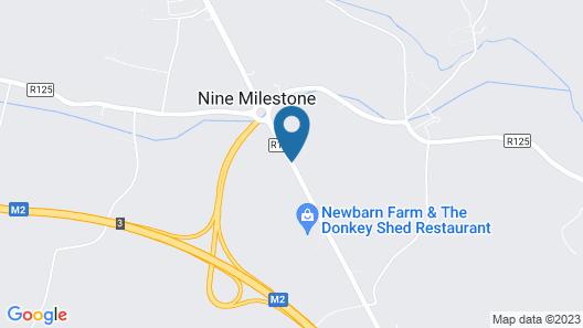 Delphi Cottage Map