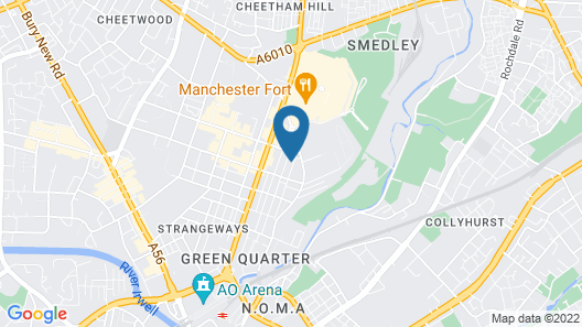 Approved Serviced Apartments Stanley Street Map