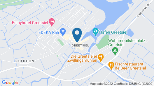 Hotel Hohes Haus Map
