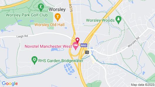 Novotel Manchester West Map