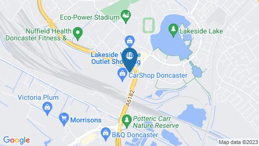 Park Inn by Radisson Doncaster Map