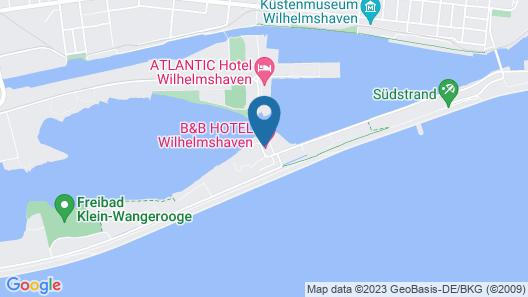 B&B Hotel Wilhelmshaven Map