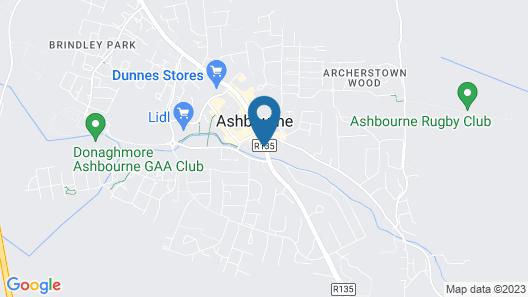 Ashbourne Court Hotel Map