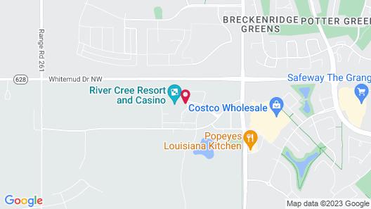 River Cree Resort and Casino Map