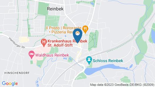 Sachsenwald Hotel Reinbek Map
