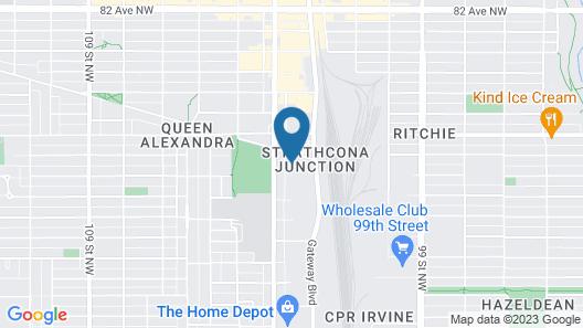 Days Inn by Wyndham Edmonton South Map