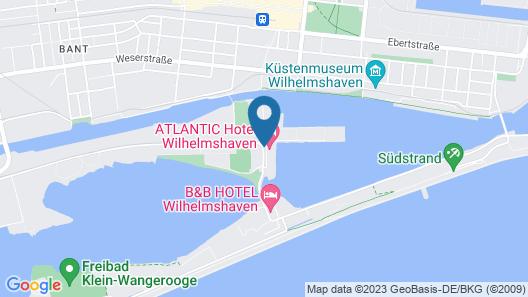 ATLANTIC Hotel Wilhelmshaven Map