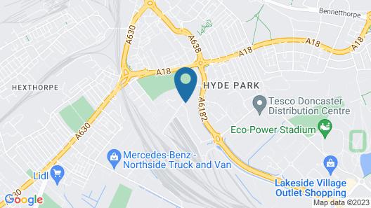 Restover Lodge Doncaster Map
