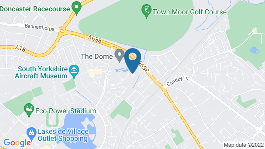 Campanile Doncaster Map