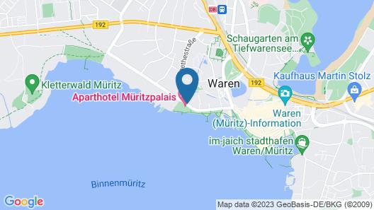 Müritzpalais Map