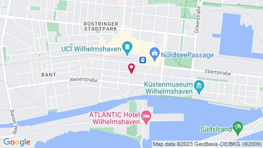 Wilhelms Haven Hotel Map