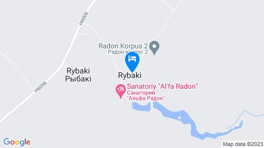 Alfa Radon Medical and Spa Resort Map