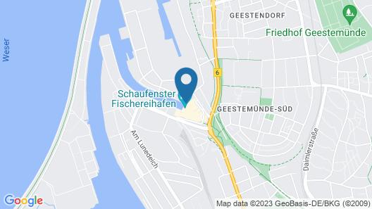 Nordsee Hotel Bremerhaven Fischereihafen Map