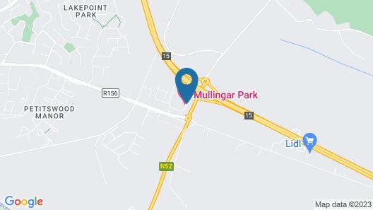 Mullingar Park Hotel Map
