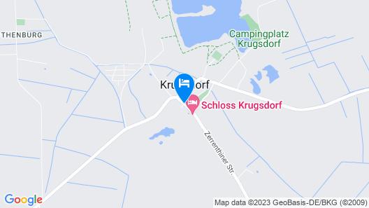 Hotel & Golf Schloss Krugsdorf Map