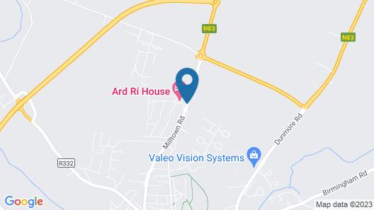 Ard Ri House Hotel Map
