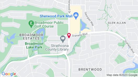 Park Centre & Hotel Map