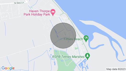 Cleethorpes Thorpe Park Caravan Holiday Home Map