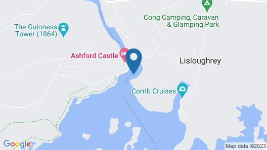 Lough Mask Road Fishing Lodge Map