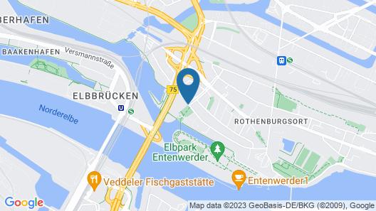Holiday Inn Hamburg Map