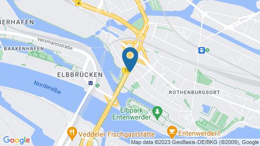Arthotel Ana Hafencity Map