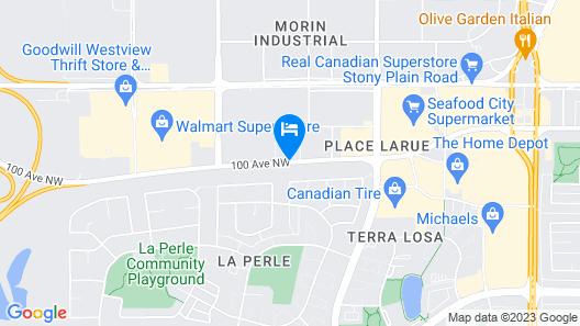 Hyatt Place Edmonton-West Map