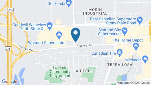 Courtyard by Marriott Edmonton West Map