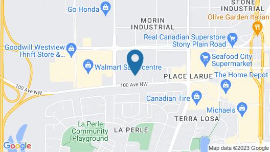 Wingate by Wyndham - Edmonton West Map