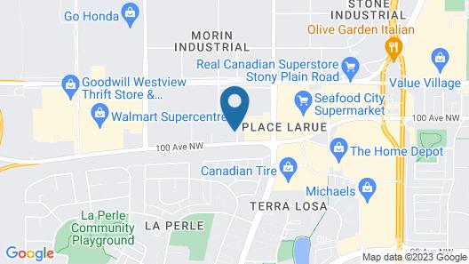Days Inn & Suites by Wyndham West Edmonton Map