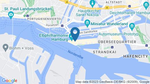 The Westin Hamburg Map