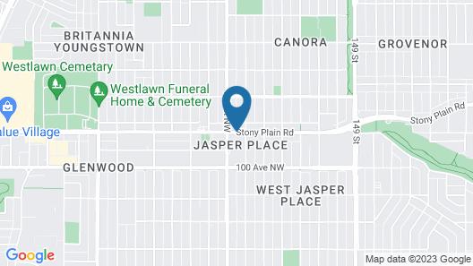 Howard Johnson Hotel by Wyndham Edmonton Map